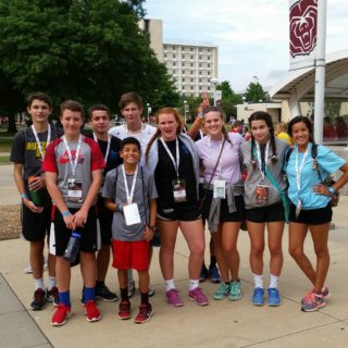 The Crew attended Steubenville, a high-energy youth conference.  Our high school students were invited to encounter Jesus Christ through dynamic speakers, engaging speakers, the Sacraments, and more.